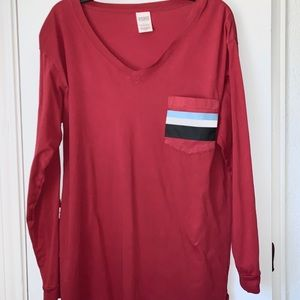 CUTE PINK long sleeve shirt